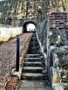 Staircase & Ramp Inside El Morro