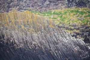 Isle of Staffa: Basalt Along the Shore