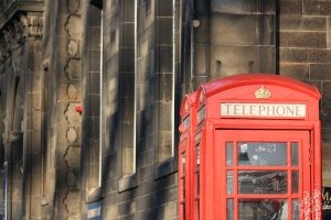 Edinburgh: Phone Booth