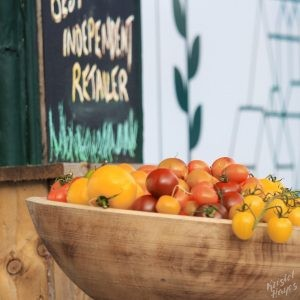 Edinburgh: Tomatoes at Earthy Market