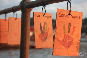 Oban: Children's Hand Prints