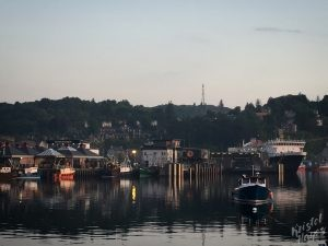 Oban: Harbor Views