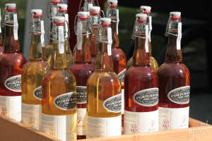 Portland Farmer's Market at Deering Oaks - Dry Cider from Pownal (Portersfield)