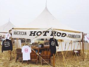 The Race of Gentlemen Pismo: AHRF Booth