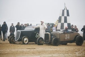 The Race of Gentlemen Pismo: Brian William vs Mike Hamel at Starting Line