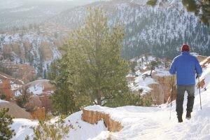 Bryce Canyon: Heading Down Queens Garden Trail