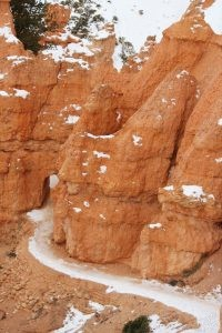 Bryce Canyon Icy Trails