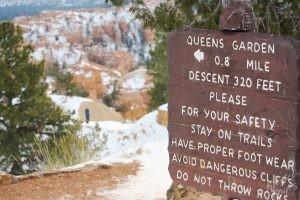 Bryce Canyon: Queens Garden Trail