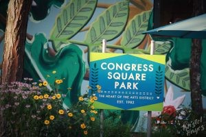Congress Square Park, Portland Maine