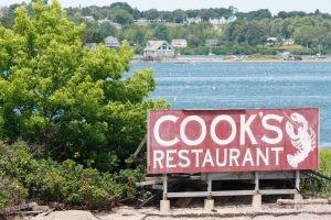 Cooks Restaurant Sign