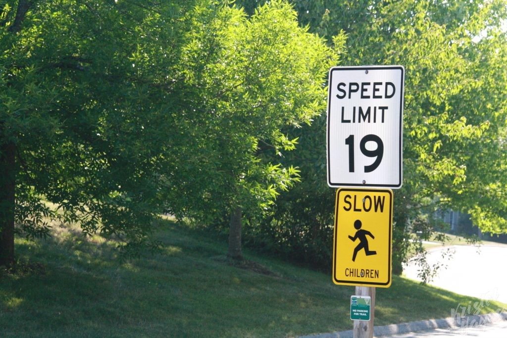 Funny Speed Limit Sign Stroudwater