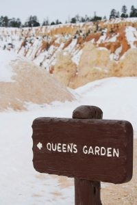 Queen's Garden Trail in Bryce Canyon