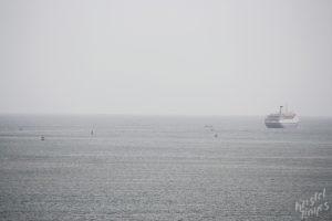 Cruise Ship Leaving Cork Harbour, Ireland
