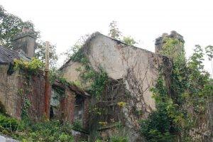 Crumbling Homes on Spike Islane-Cork Harbour, Ireland