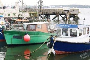 Lobster Boats in Cobh-Cork Harbor, Ireland