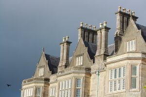 Muckross House Roofline-Killarney National Park, Ireland