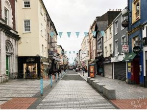 Oliver Plunkett Street-Cork City, Ireland