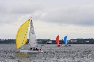 Sailing Race in Cobh-Cork Harbor, Ireland