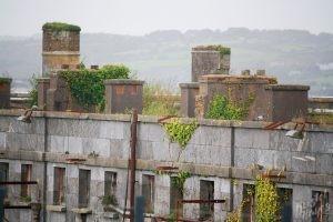Spike Island Rooflines-Cork Harbour, Ireland