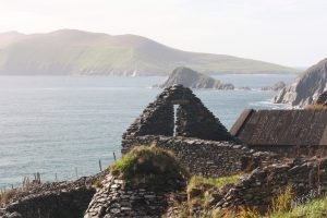 Stone Structure Along Dingle Peninsula, Ireland