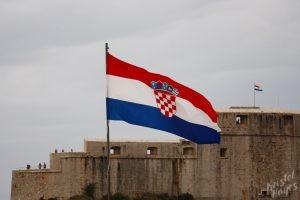 Croatian Flags, Dubrovnik