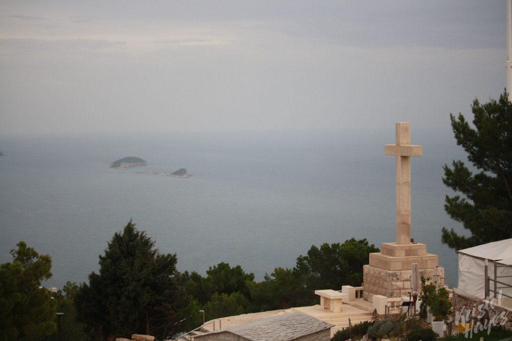 Cross Above Dubrovnik