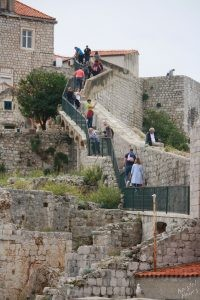Pilgrimage Along the Old Town Wall, Dubrovnik Croatia