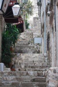 Stairs, Dubrovnik Croatia