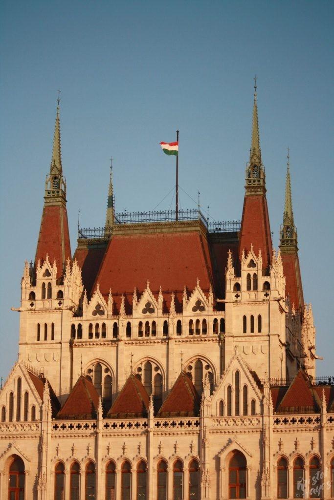 Hungarian Parliament Roofline