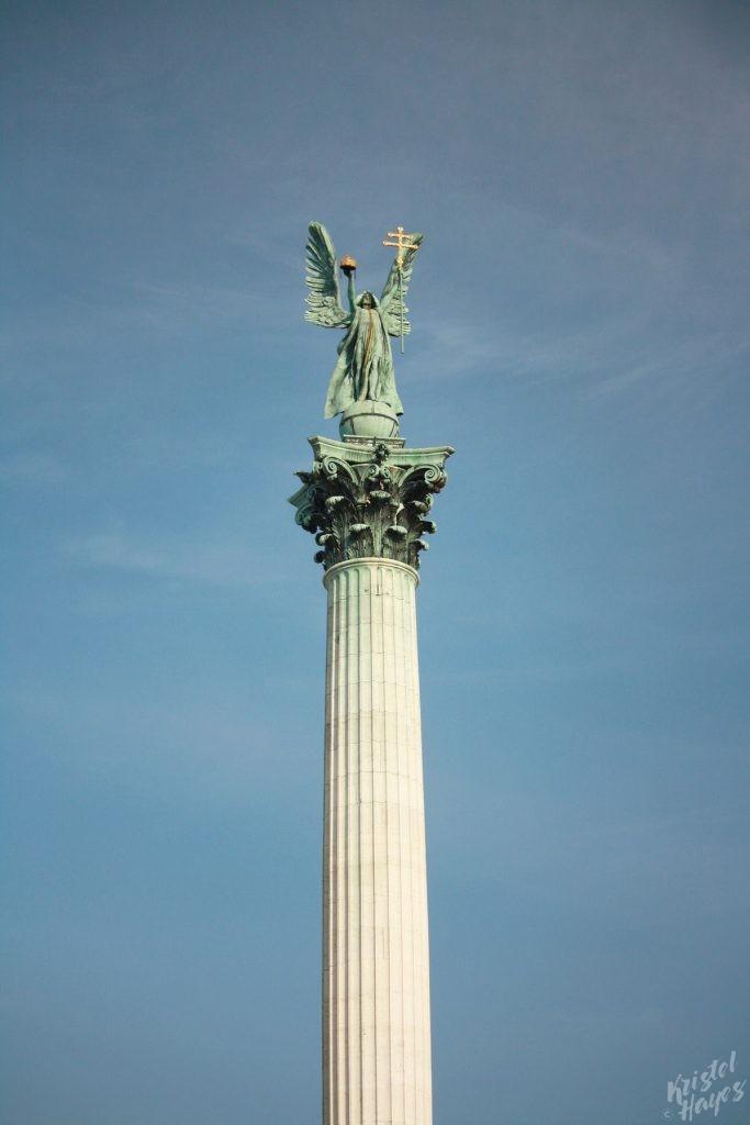 Millennium Monument Heroe's Square Budapest