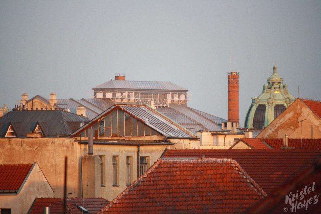 Rooflines of Old Town Prague